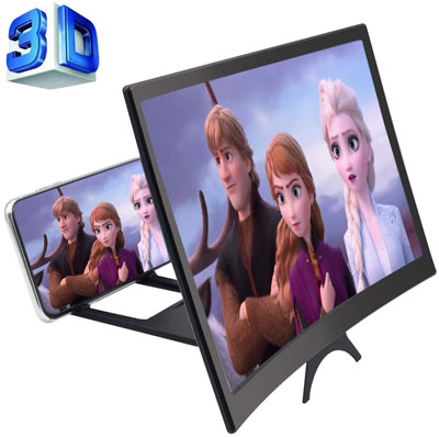 3. GLISTON 12'' 3D Phone Screen Enlarger