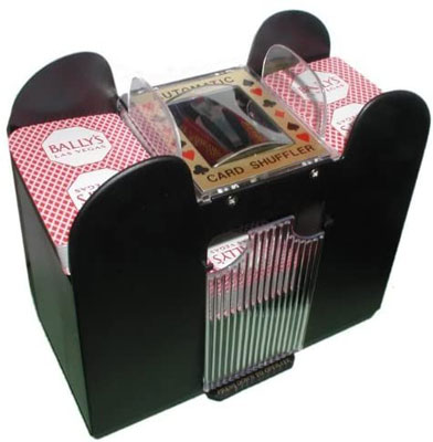 1. Trademark Poker Battery Operated Automatic Playing Card Shuffler