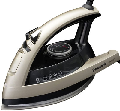 6. Panasonic Dry and Steam Iron 1500 Watt with Ceramic Soleplate (NI-W810CS)