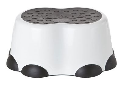 2. Bumboo Toddler Step Stool of Elephant Leg Pattern