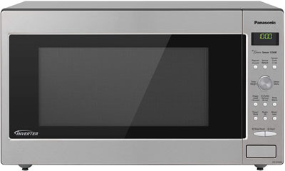 3. Panasonic 1250W 2.2 Cubic Foot Microwave Oven (NN-SD945S)
