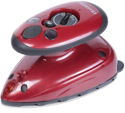 10. SMAGREHO Mini Travel Steam Iron with Dual Voltage