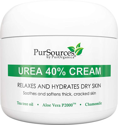 2. PurSources Urea 40% 4oz Foot Cream