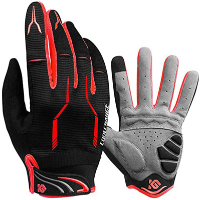 4. Cool Change Full Finger Unisex Outdoor Bike Cycling Gloves