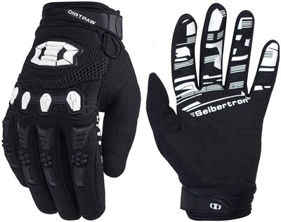 2. Seibertron Dirtpaw Unisex Cycling Bike Gloves