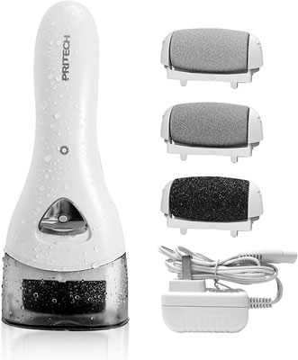 6. PRITECH Electric Rechargeable Feet Callus Removers