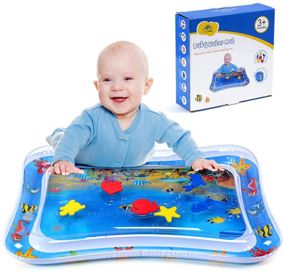 1. MAGIFIRE Tummy Time Infant Water Mat