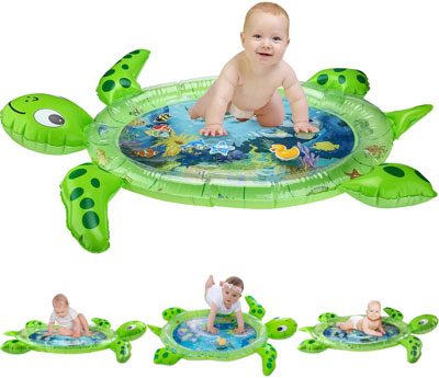 3. Gebra Sea Turble Water Mat for Infants