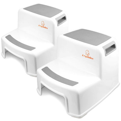 9. Angelbliss Dual Height Step Stool for Children