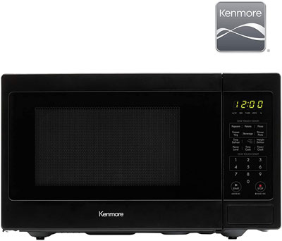 9. Kenmore 0.9 cu. ft Small Compact 900 Watts Microwave (70929)