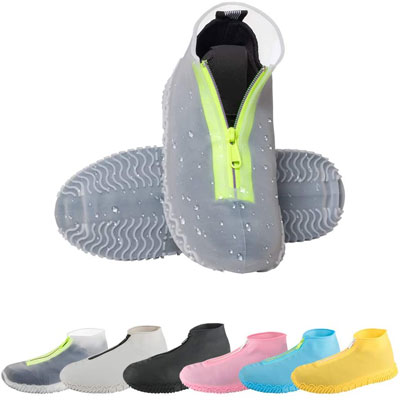 6. CHUHUAYUAN Waterproof Shoe Covers