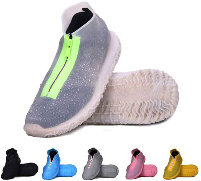 5. DREAMUS Reusable Silicone Shoe Covers