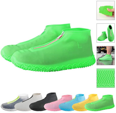3. ATOFUL Silicone Shoe Covers
