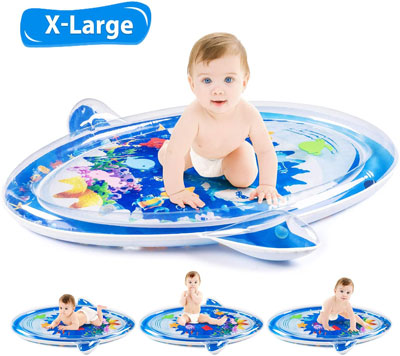 6. Shark Shape X-Large Infant Water Mat Toy
