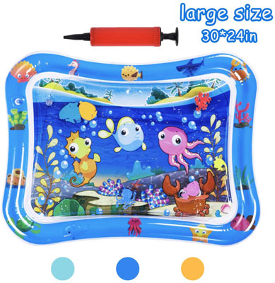 4. HABOM Baby Water Mat Toy for New Born Babies