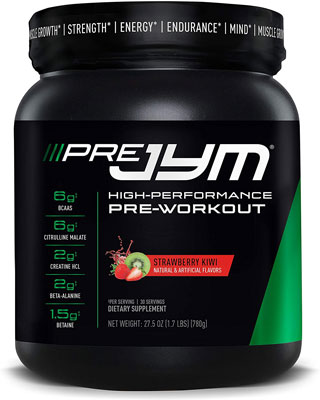 7. Pre JYM Pre Workout Powder
