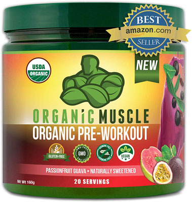 8. ORGANIC MUSCLE Organic Pre Workout Powder