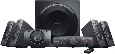 2. Logitech Z906 5.1 Surround Sound Speaker System