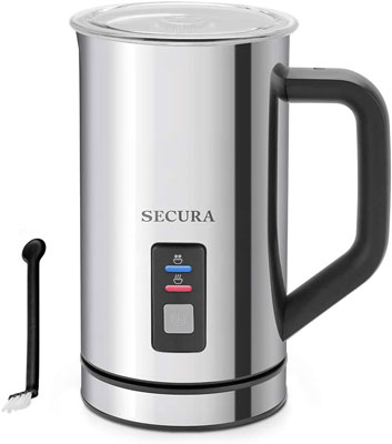 3. Secura 250ml Automatic Electric Milk Frother and Warmer