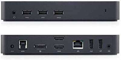 4. Dell USB 3.0 Ultra HD docking station
