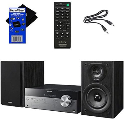 8. Sony All-in-one Hi-Fi Bookshelf Stereo System