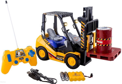 6. WolVol 6-Channel Electric Remote Control Forklift