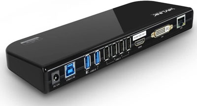 6. WAVLINK USB 3.0 Universal Laptop Docking Station