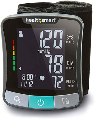 6. Healthsmart digital blood pressure monitor