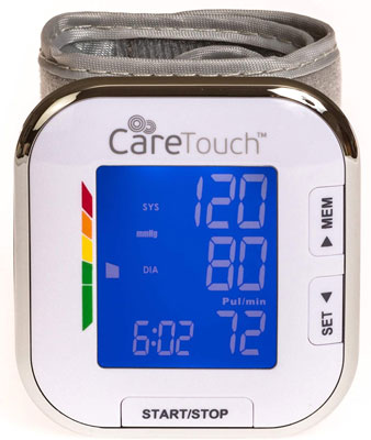 1. Care Touch Fully Automatic Blood Monitor