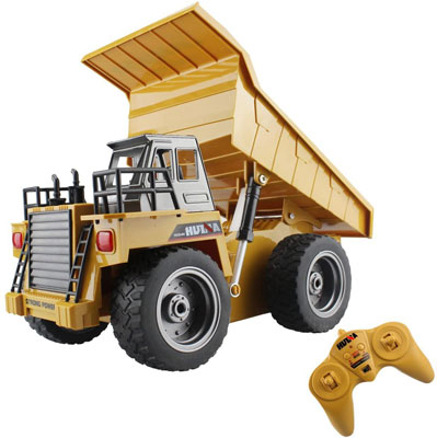 2. Fisca RC Truck 6-channel Dump Truck