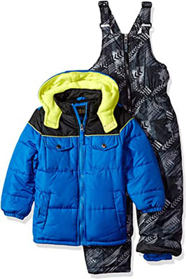 3. iXtreme Boys' Insulated Two-Piece Snowsuits