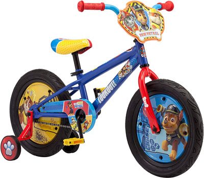 5. Nickelodeon Paw Patrol Bicycle for Kids
