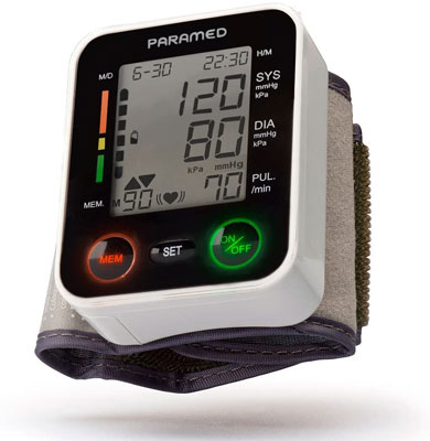 3. Paramed Automatic monitor for Blood Pressure
