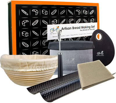 5. The French Pantry Bread Baking Kit Gift Set