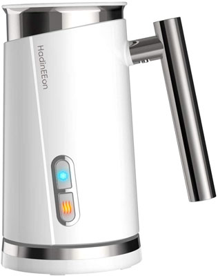 1. HadinEEon 120V Electric Milk Frother & Steamer
