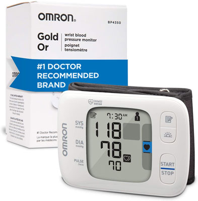 8. Omron Gold Blood Pressure Monitor