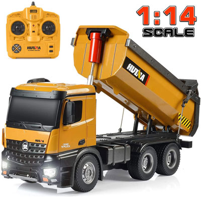 10. Kolegend Remote Control Construction Dump Truck