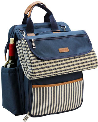 9. INNO STAGE Picnic Backpack Bag for 4