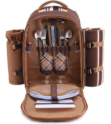 1. apollo walker Picnic Backpack for 2 Person