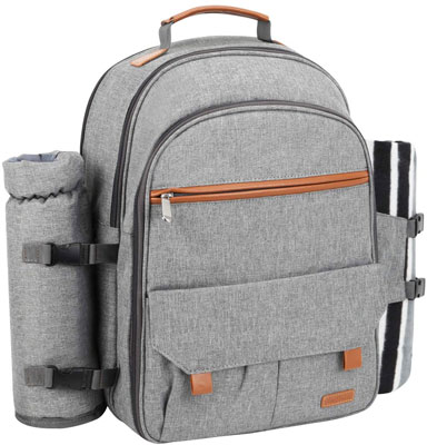 2. Sunflora Picnic Backpack for 4 Person