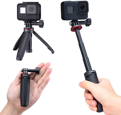 10. YILIWIT Extendable Selfie Stick for GoPro