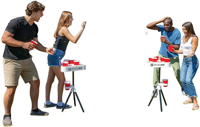 6. Versapong Portable Beer Pong Table