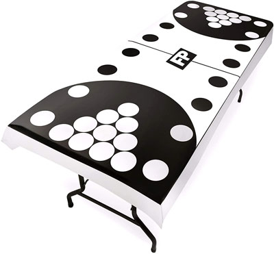 7. Flip Pong Drinking Games Table Cover