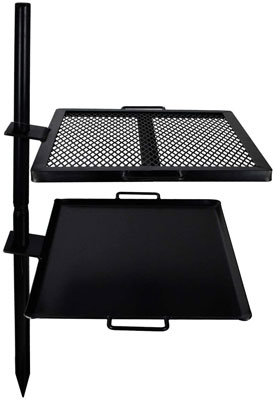 GameMaker Coated CampFire Grill Grate