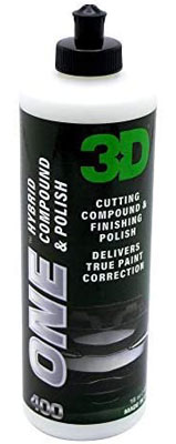 2. 3D One - Professional Cutting and Finishing Compound