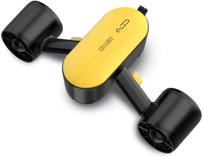 4. CellBee Underwater Sea Scooter with Camera Underwater Drone