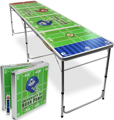 10. UBPONG 8-Foot Beer Pong Table