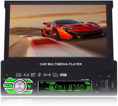 7. Jarwee 7-inch Flip Out Touch Screen Car Stereo