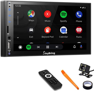 3. SJOYBRING Car Stereo 7 Inch LCD Touchscreen Monitor