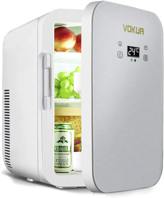 5. VOKUA 10 Can AC/DC Portable Cooler and Warmer